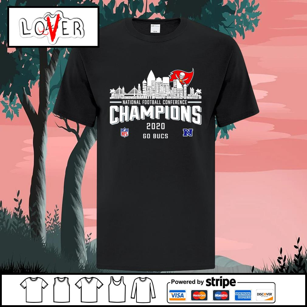 National football conference champions 2020 go Tampa Bay Buccaneers shirt
