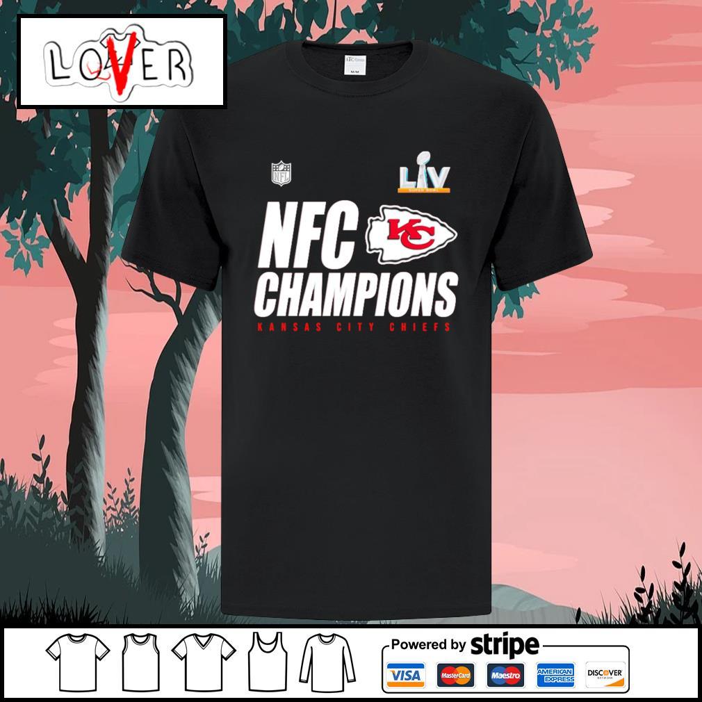 NFC champions Kansas City Chiefs super bowl lv shirt