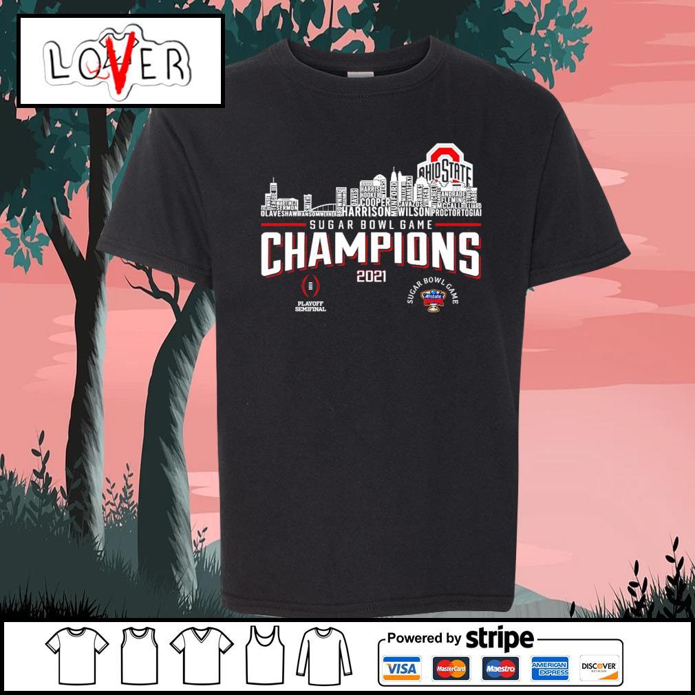 Ohio State Buckeyes rose bowl game champions 2021 s Kid-T-shirt