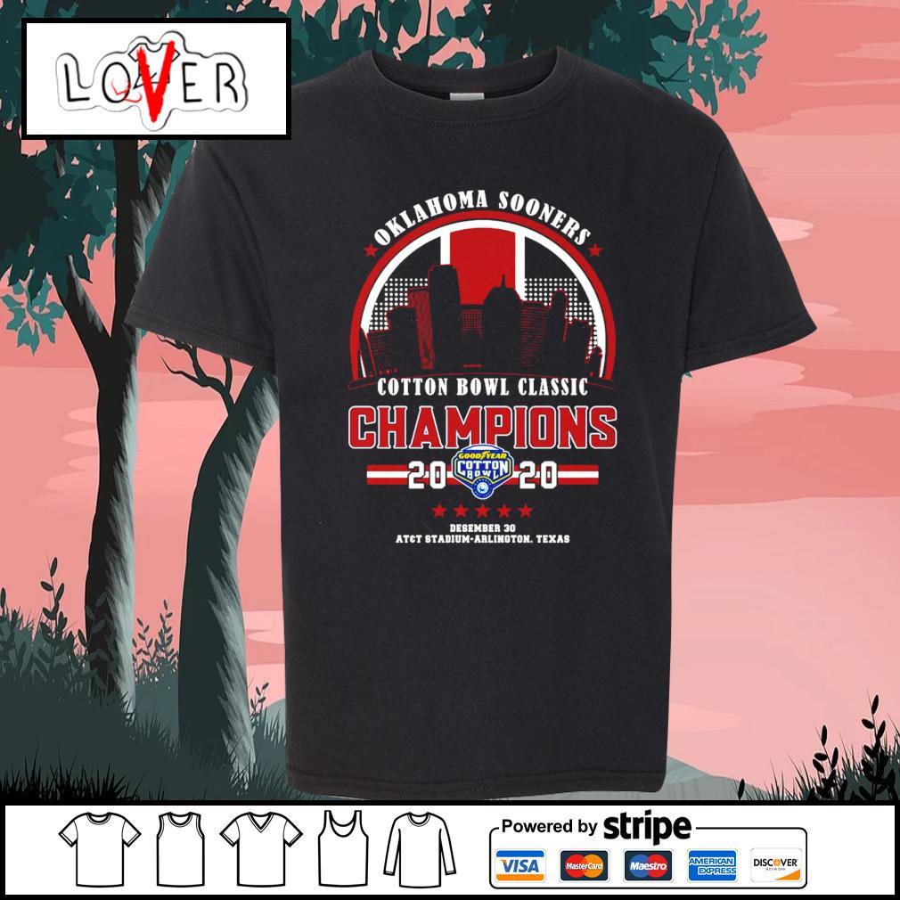 Oklahoma Sooners cotton bowl classic champions 2020 s Kid-T-shirt
