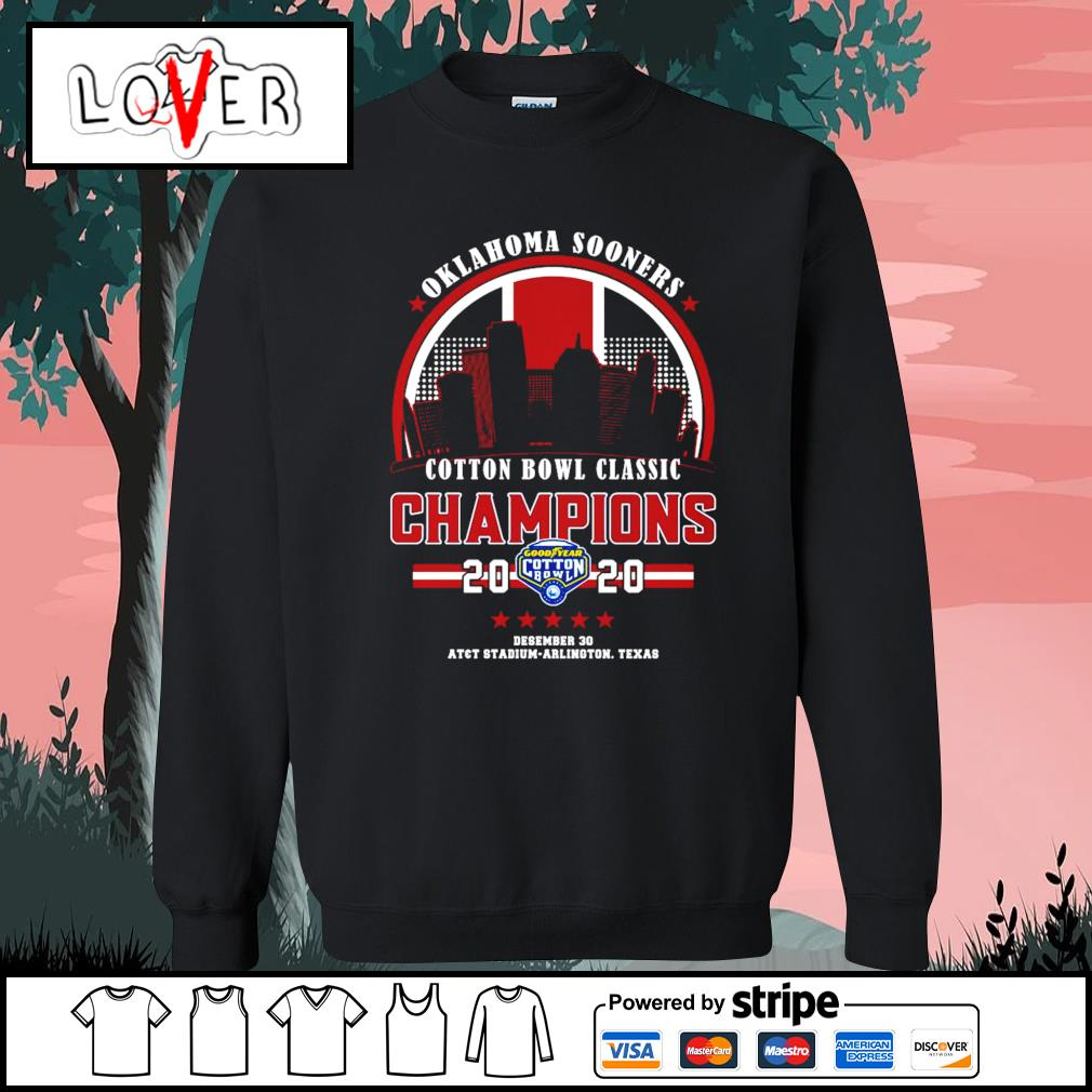 Oklahoma Sooners cotton bowl classic champions 2020 s Sweater