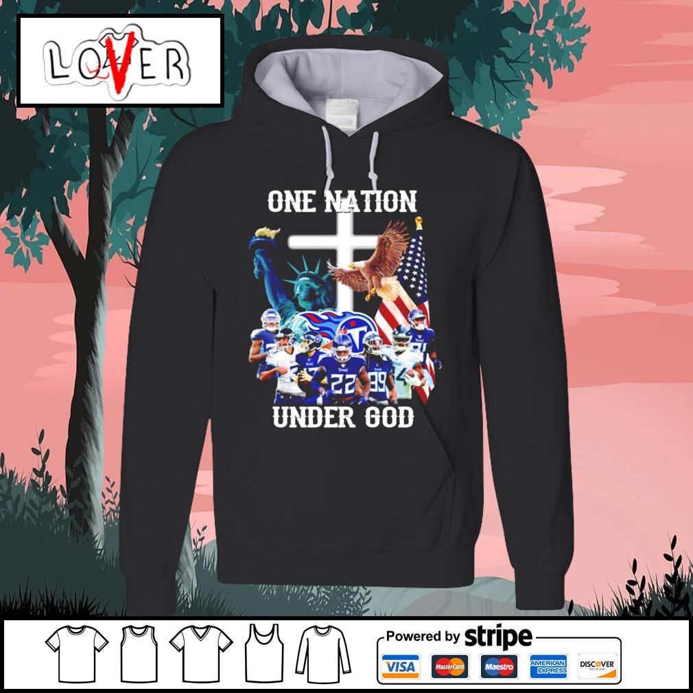 One nation under god Tennessee Titans s Hoodie