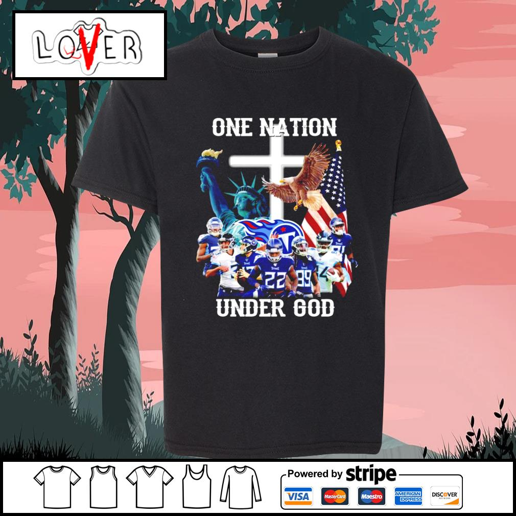 One nation under god Tennessee Titans s Kid-T-shirt