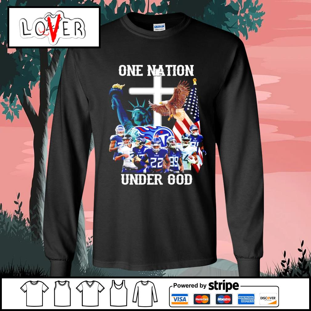 One nation under god Tennessee Titans s Long-Sleeves-Tee