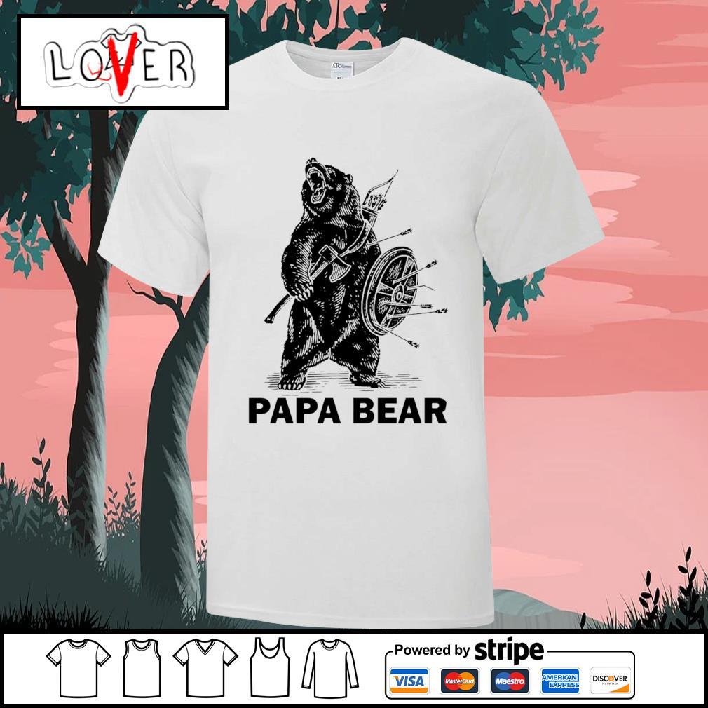 Papa bear Viking shirt