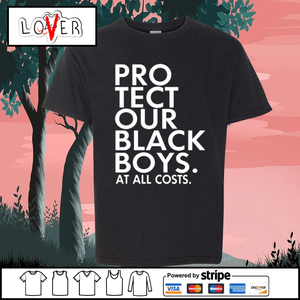 Pro tect our black boys at all costs s Kid-T-shirt