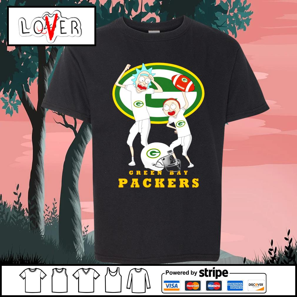 Rick and Morty love Green Bay Packers s Kid-T-shirt