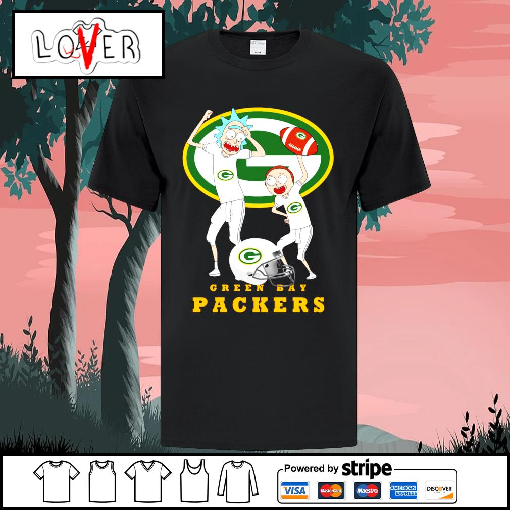 Rick and Morty love Green Bay Packers shirt