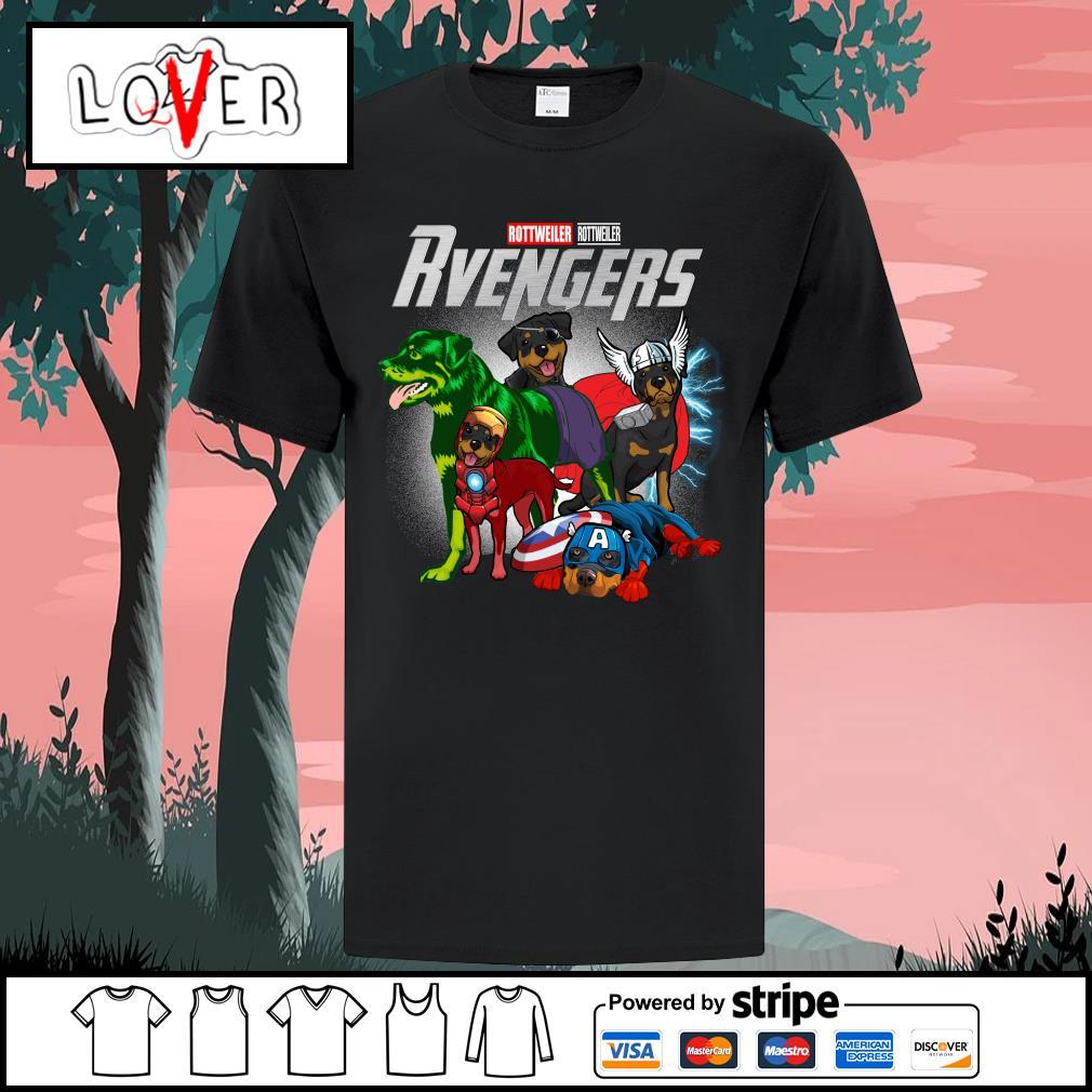 Rottweiler Rvengers Avengers shirt