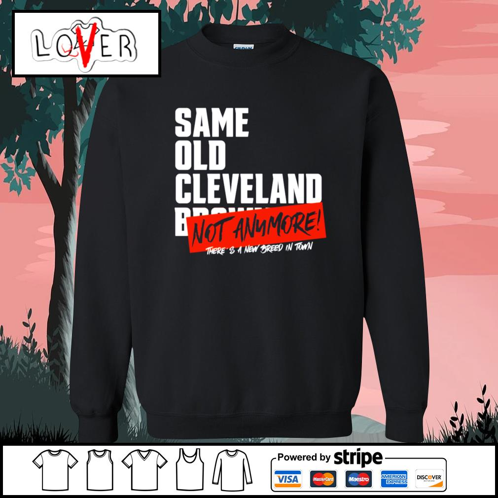 Same old Cleveland Browns not anymore there's a new breed in town s Sweater