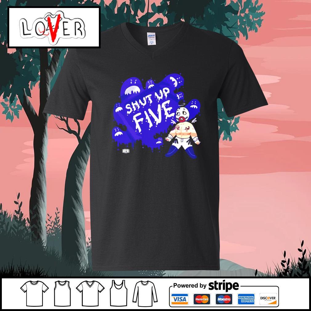 Shut up five s V-neck-T-shirt