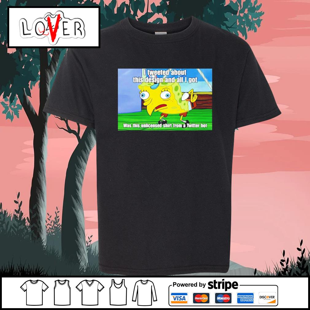 Spongebob I tweeted about this design and all I got s Kid-T-shirt