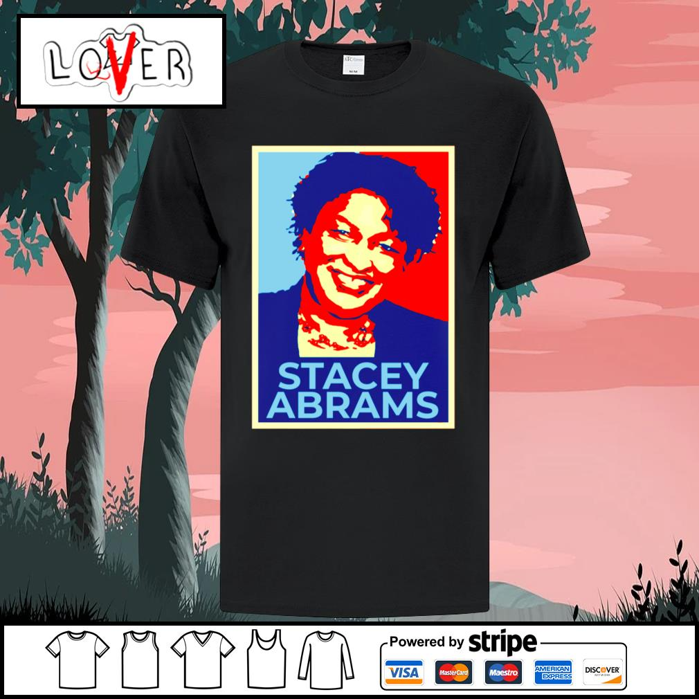 Stacey Abrams vintage shirt