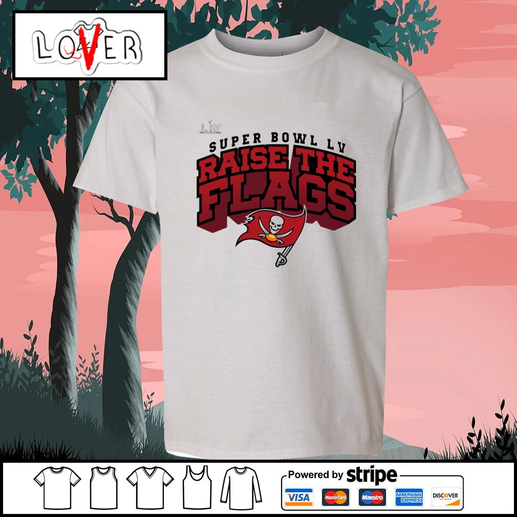 Super Bowl LV Raise The Flags Tampa Bay Buccaneers s Kid-T-shirt