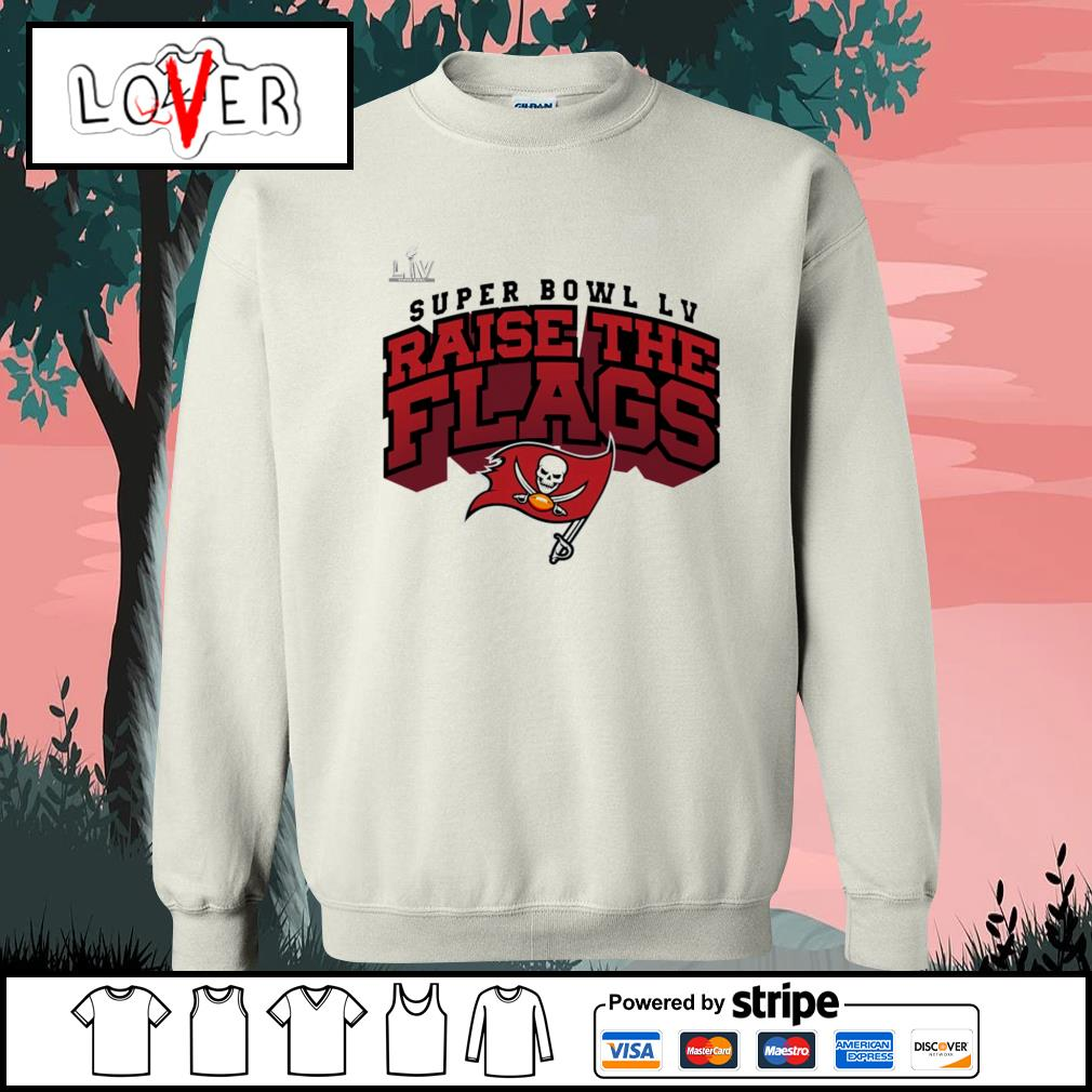 Super Bowl LV Raise The Flags Tampa Bay Buccaneers s Sweater