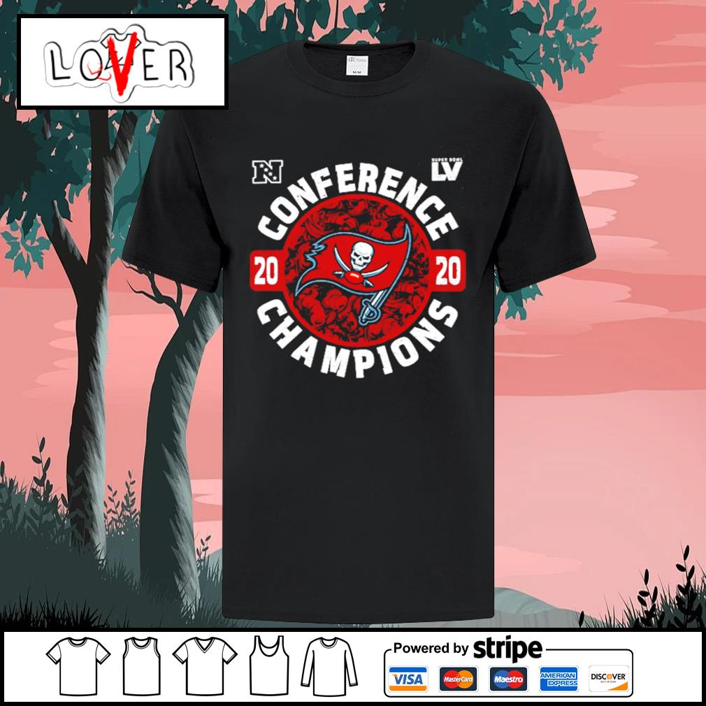 Tampa Bay Buccaneers 2020 conference champions shirt