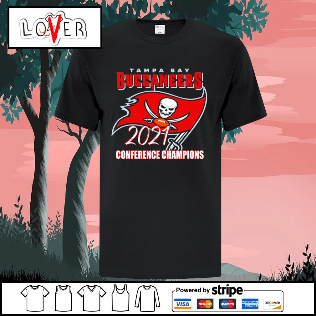 Tampa Bay Buccaneers 2021 conference Champions shirt