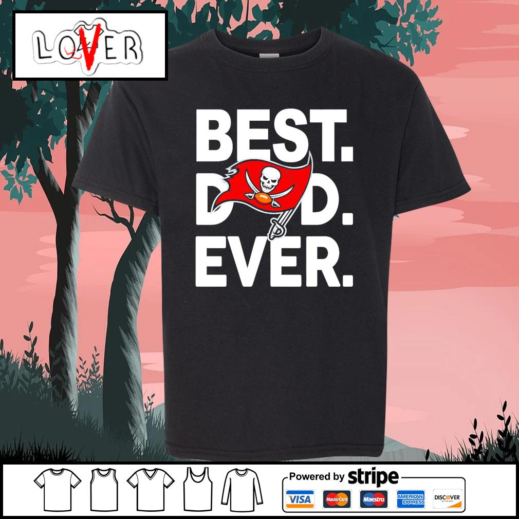 Tampa Bay Buccaneers best dad ever s Kid-T-shirt