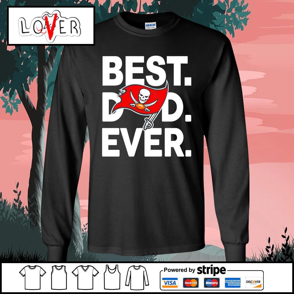 Tampa Bay Buccaneers best dad ever s Long-Sleeves-Tee