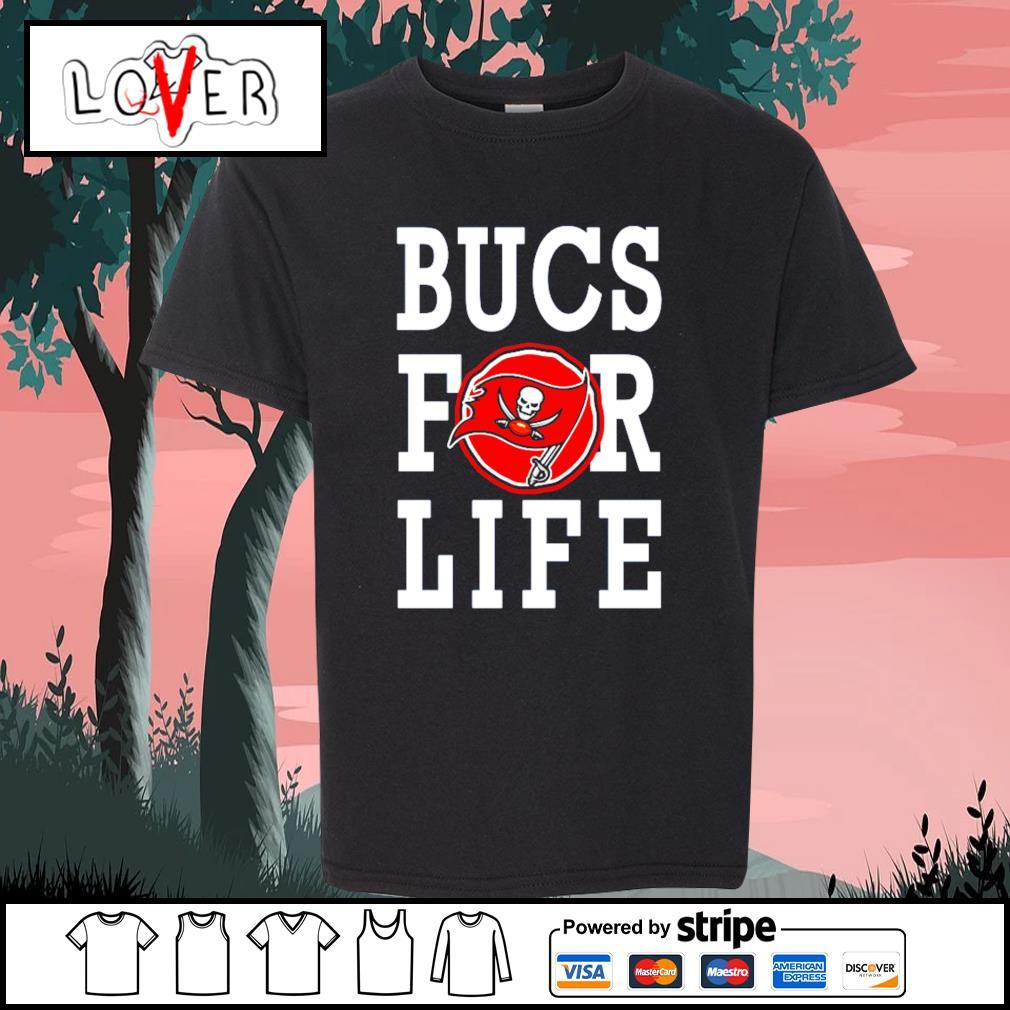 Tampa Bay Buccaneers bucs for life s Kid-T-shirt