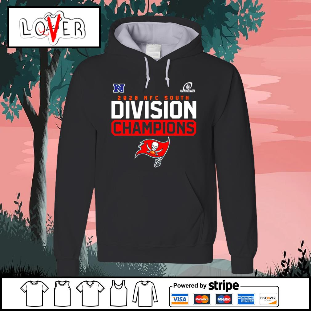 Tampa Bay Buccaneers Playoffs 2020 NFC south Division Champions s Hoodie