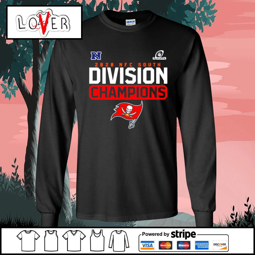 Tampa Bay Buccaneers Playoffs 2020 NFC south Division Champions s Long-Sleeves-Tee