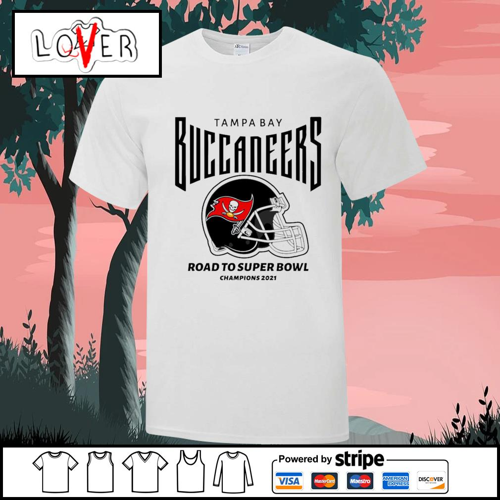 Tampa Bay Buccaneers road to super bowl champions 2021 shirt