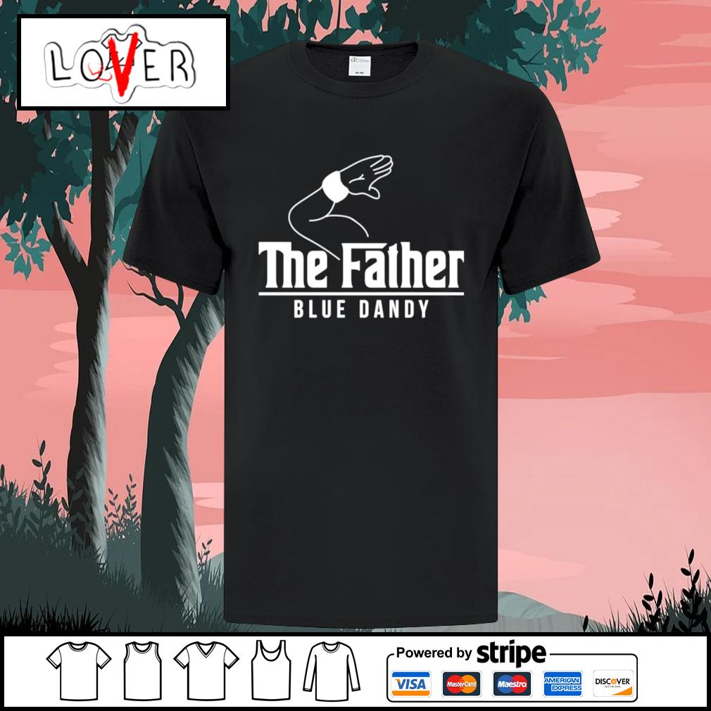 The father blue dandy shirt