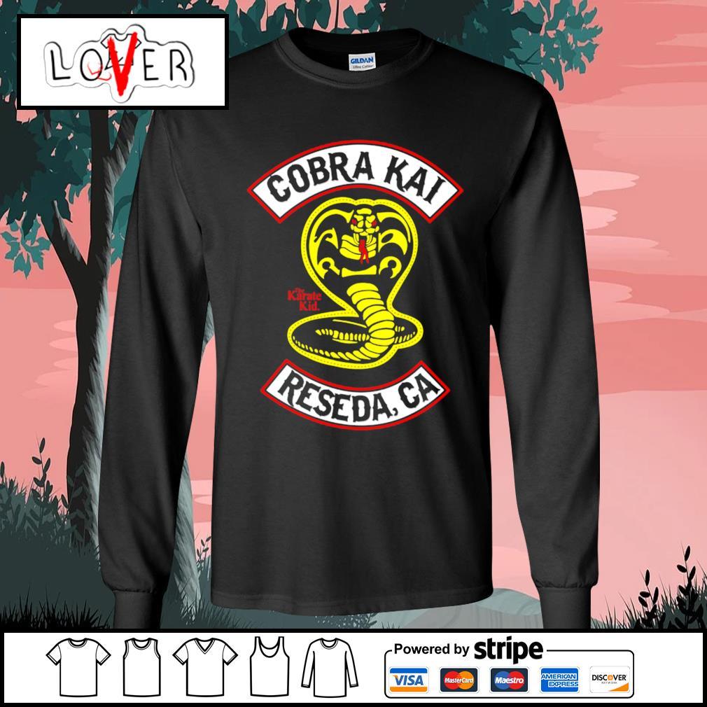 The Karate Kid Cobra Kai reseda CA s Long-Sleeves-Tee