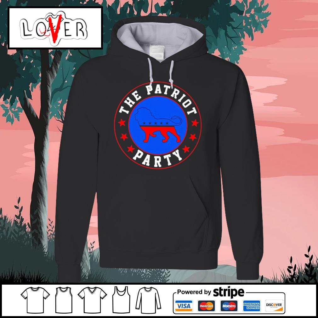 The patriot party lion America Trump s Hoodie