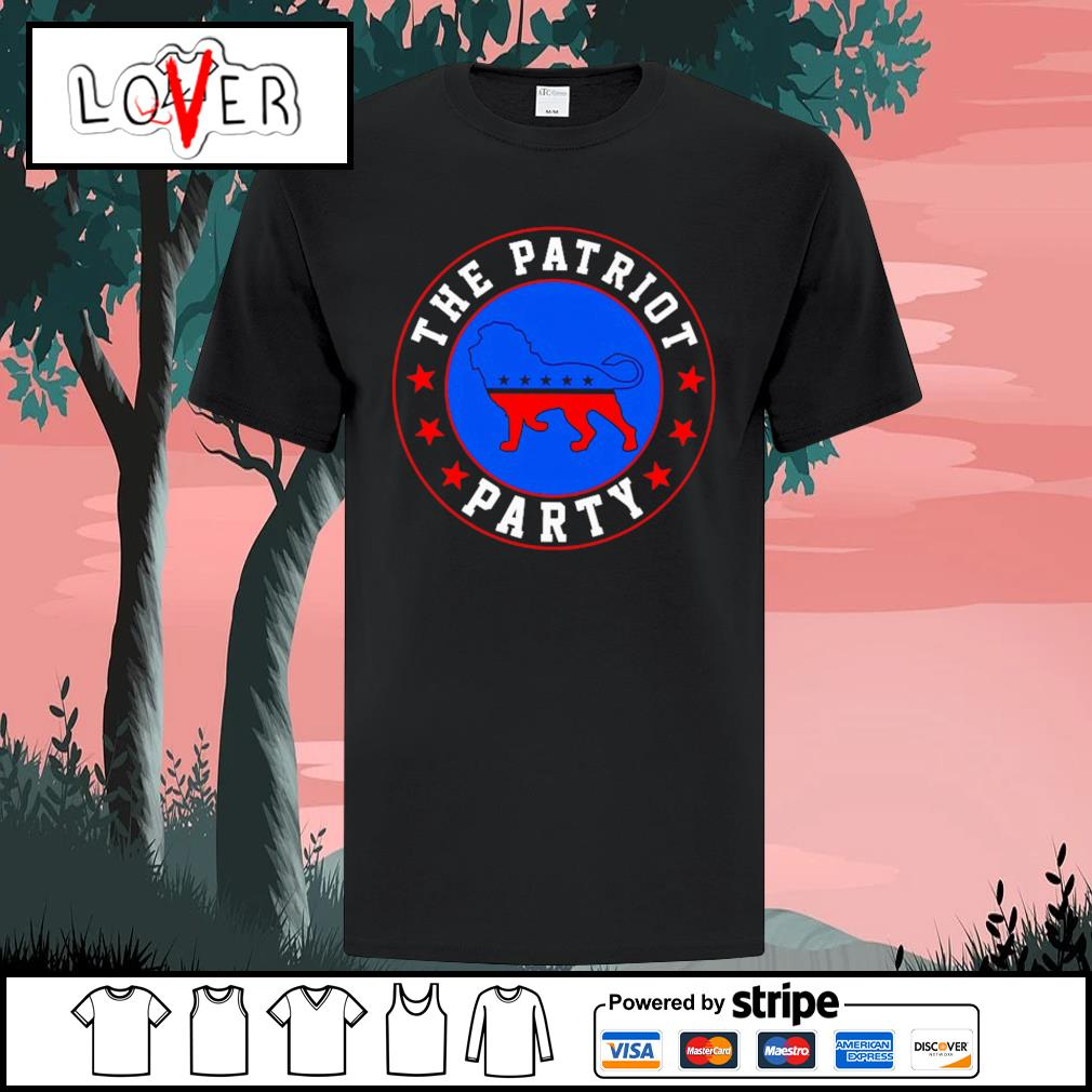 The patriot party lion America Trump shirt