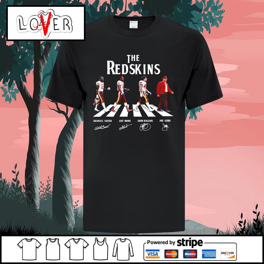 The Washington Redskins abbey road signatures shirt