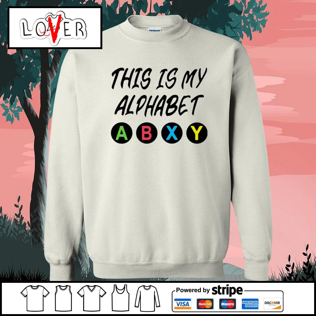 This is my alphabet abxy s Sweater