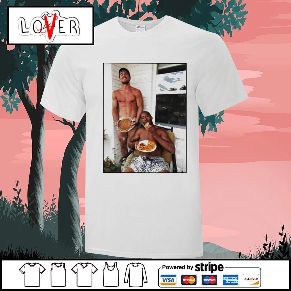Tyler Cameron and Matt James shirt