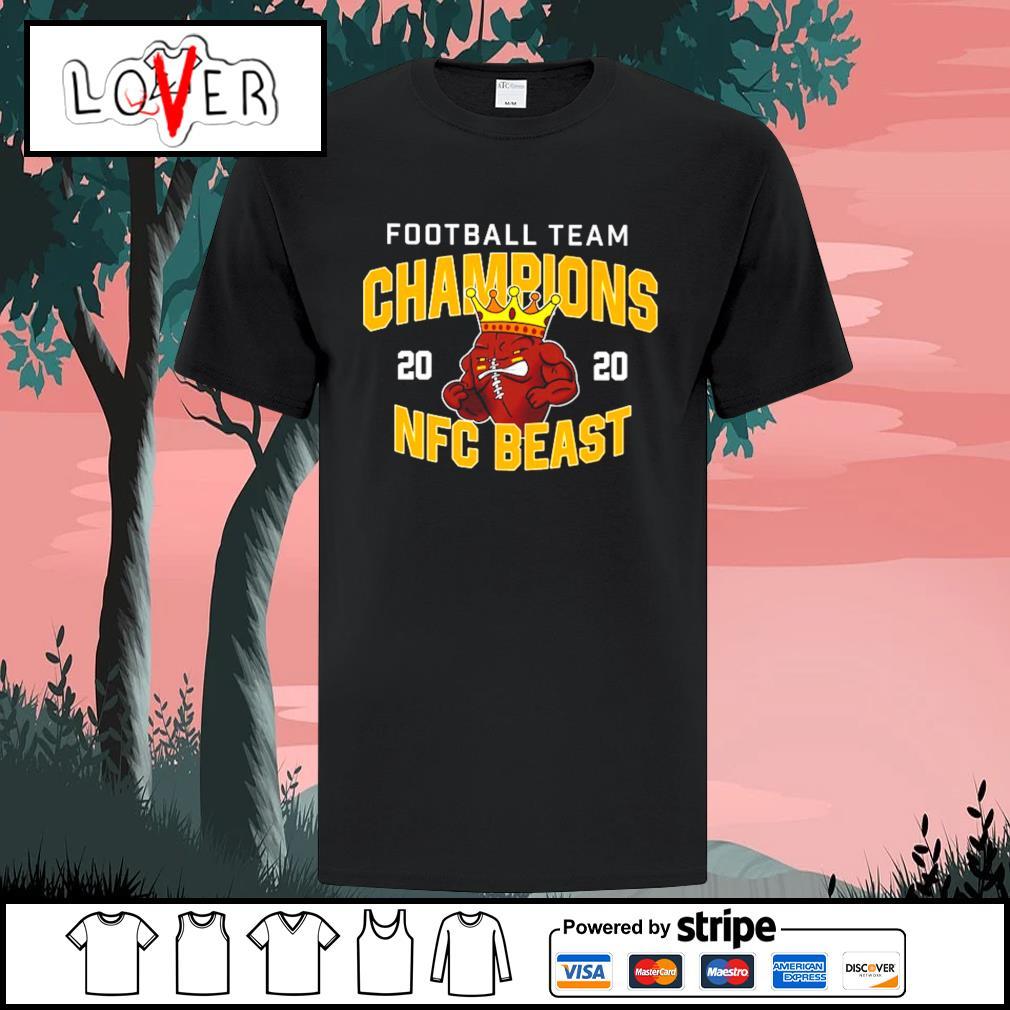 Washington Football Team Champions 2020 NFC Beast shirt
