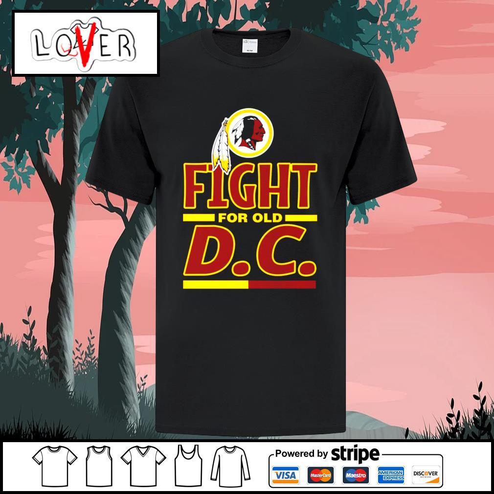 Washington Redskins fight for old D.C shirt