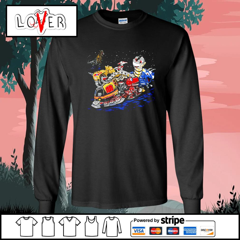 Zords Before Time s Long-Sleeves-Tee