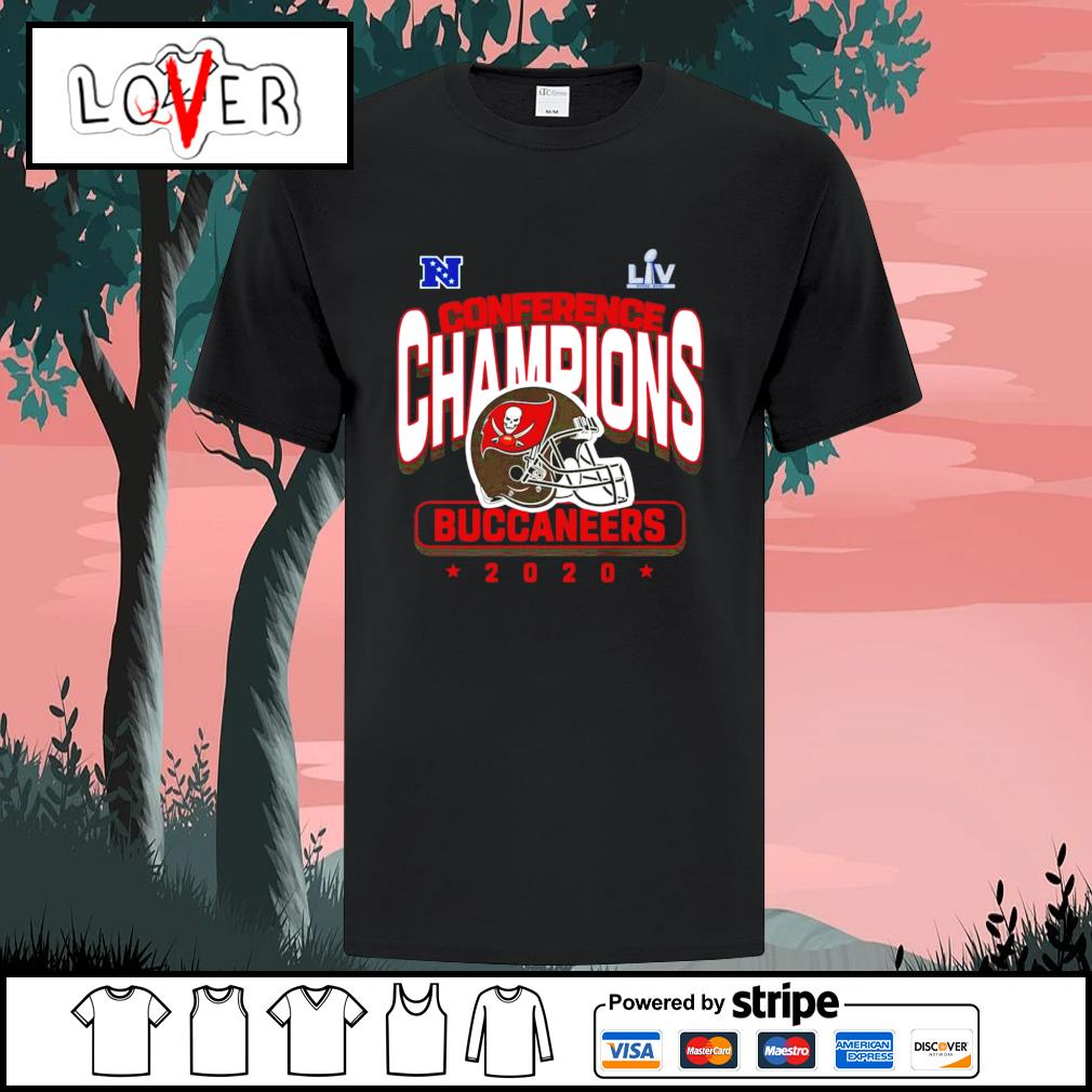 2020 conference champions Tampa Bay Buccaneers shirt