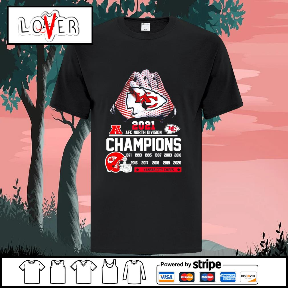 2021 AFC north division champions 1971 2020 Kansas City Chiefs shirt