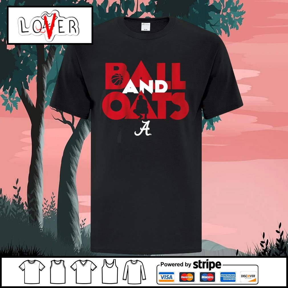 Alabama Crimson Tide ball and oats shirt