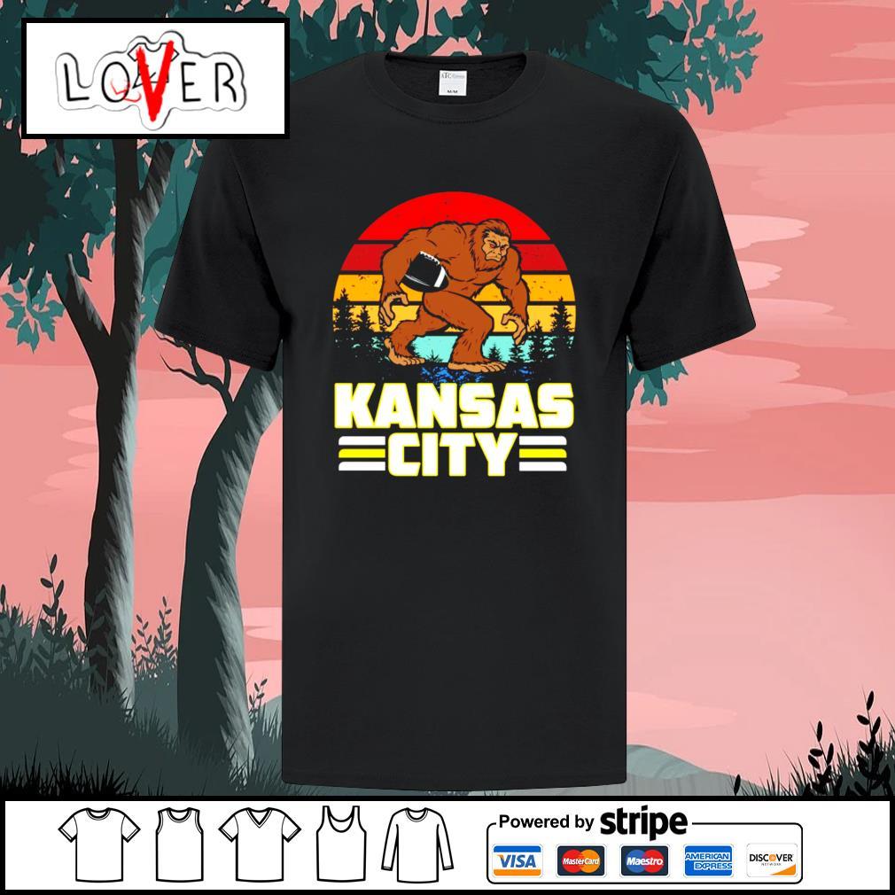 Bigfoot Kansas City Chiefs vintage shirt