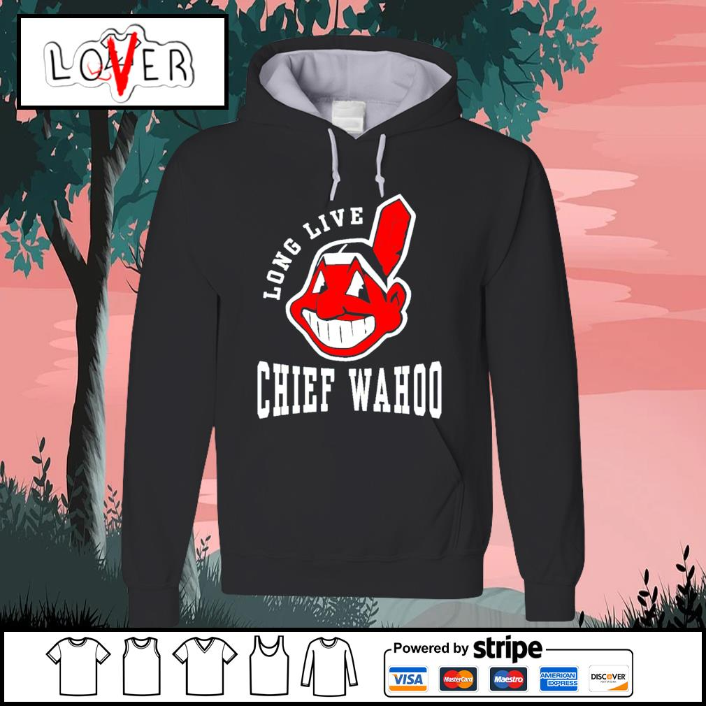 Cleveland indians long live Chief wahoo adult s Hoodie