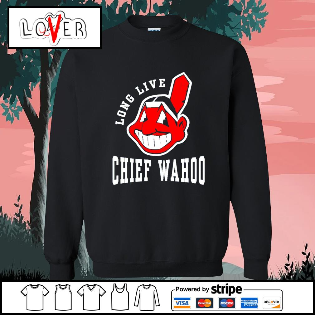 Cleveland indians long live Chief wahoo adult s Sweater