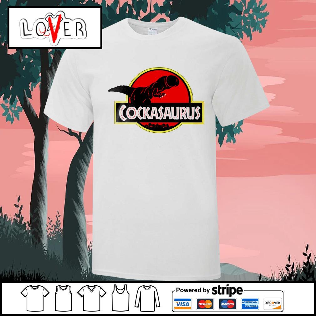Cockasaurus Jurassic Park shirt