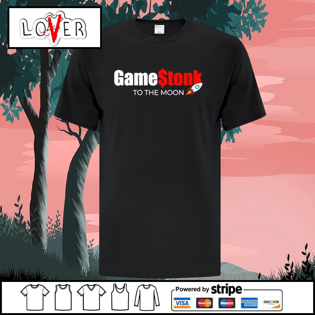 Gamestonk to the moon shirt