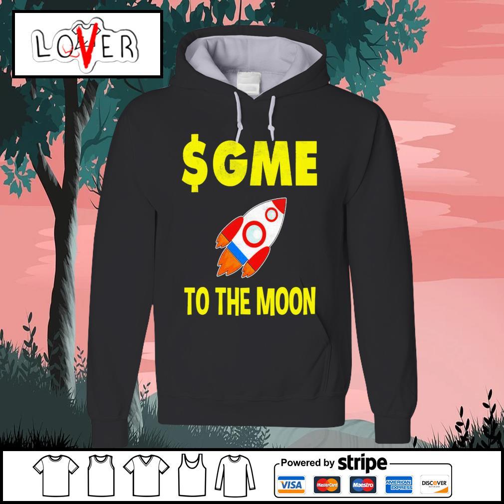 Gme to the moon ff gamestonk s Hoodie