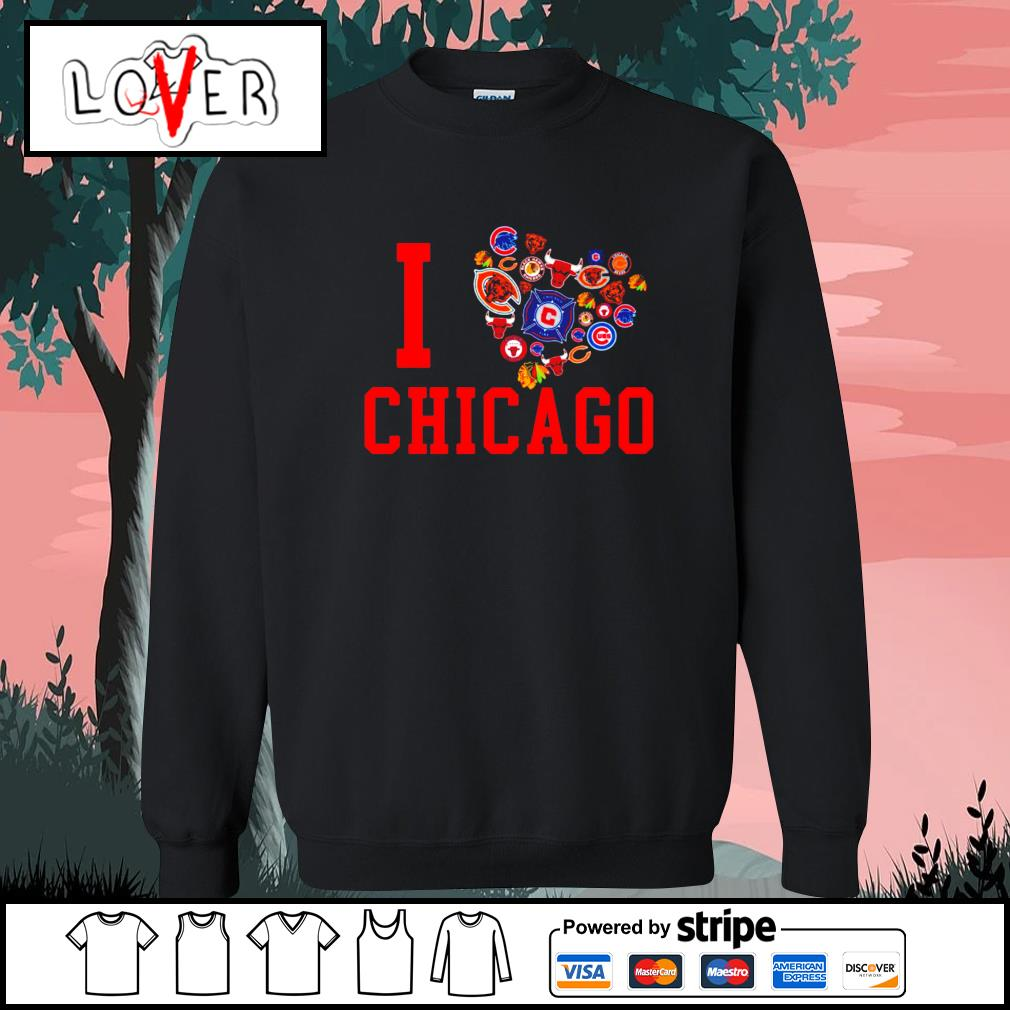 I love Chicago sport teams s Sweater
