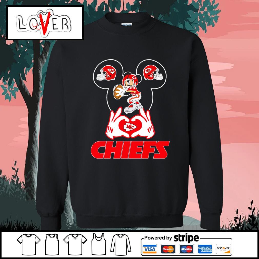 I love Mickey Mouse Kansas City Chiefs s Sweater
