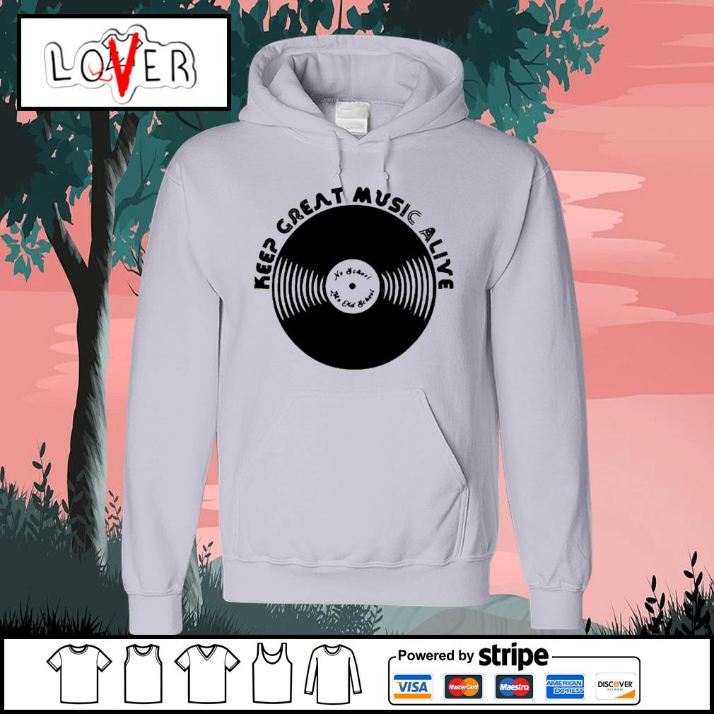 Jamel aka jamal keep great music alive s Hoodie