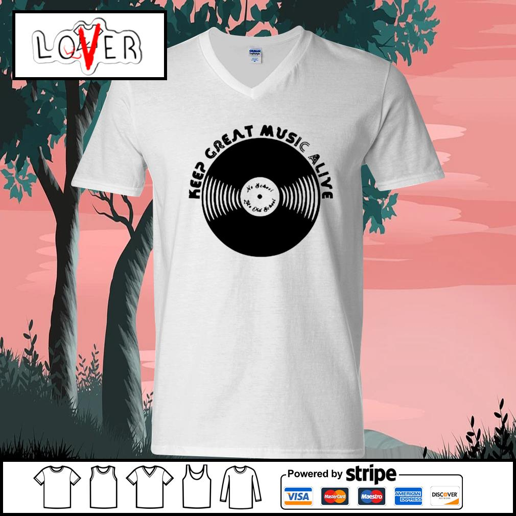 Jamel aka jamal keep great music alive s V-neck-T-shirt